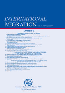 Cover of the journal International Migration