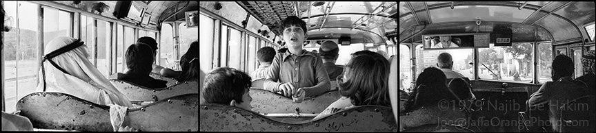 Arab Bus, Jerusalem 1979