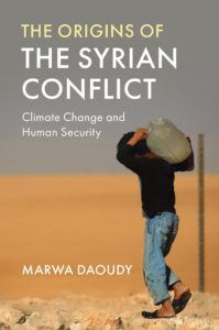 Picture from the cover of book The Syrian Conflict: Climate change and human security