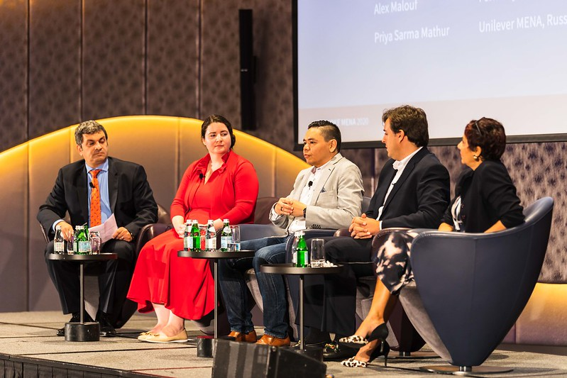 Hannah speaks at the 2020 Provoke Mena Summit in Dubai alongside corporate partners committed to gender equality