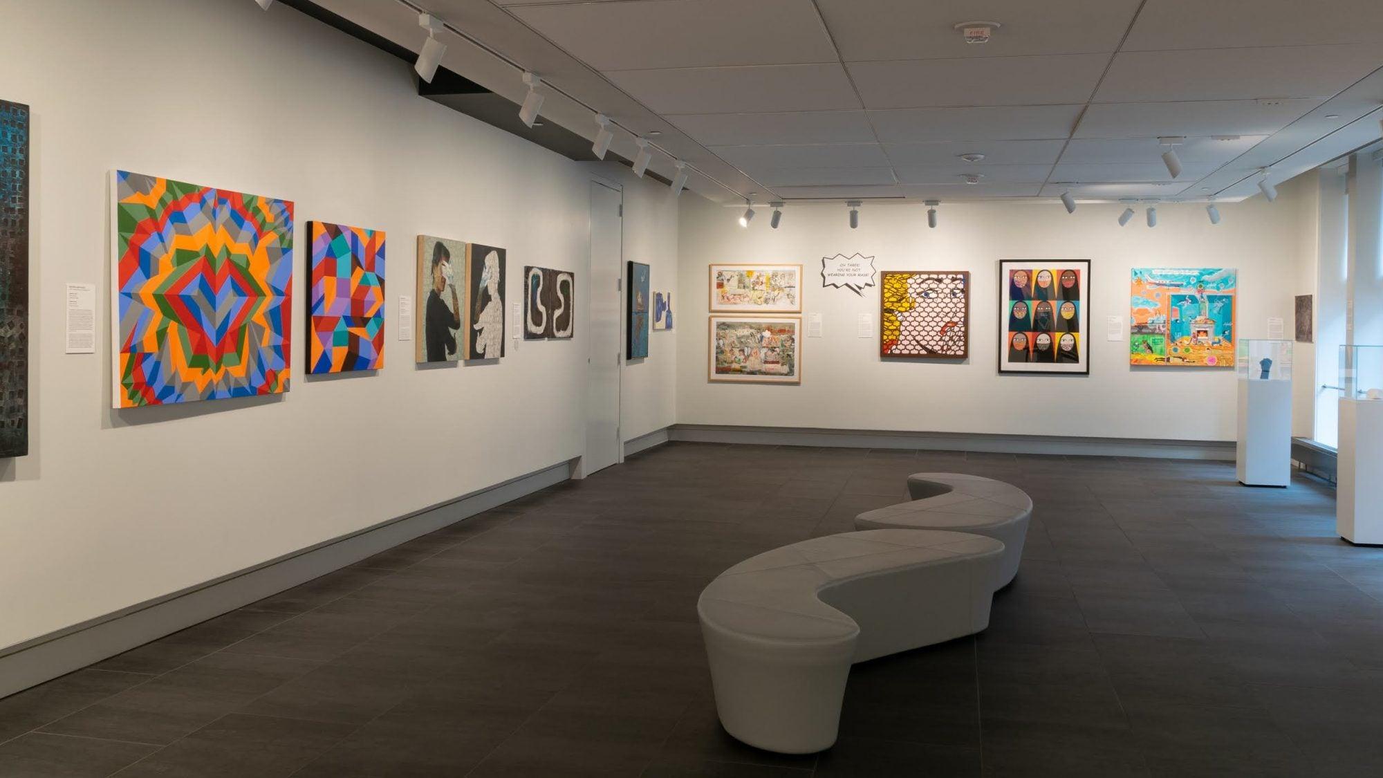 art installation at MEI