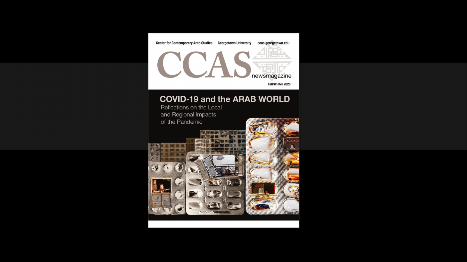 The cover of the fall/winter CCAS newsmagazine