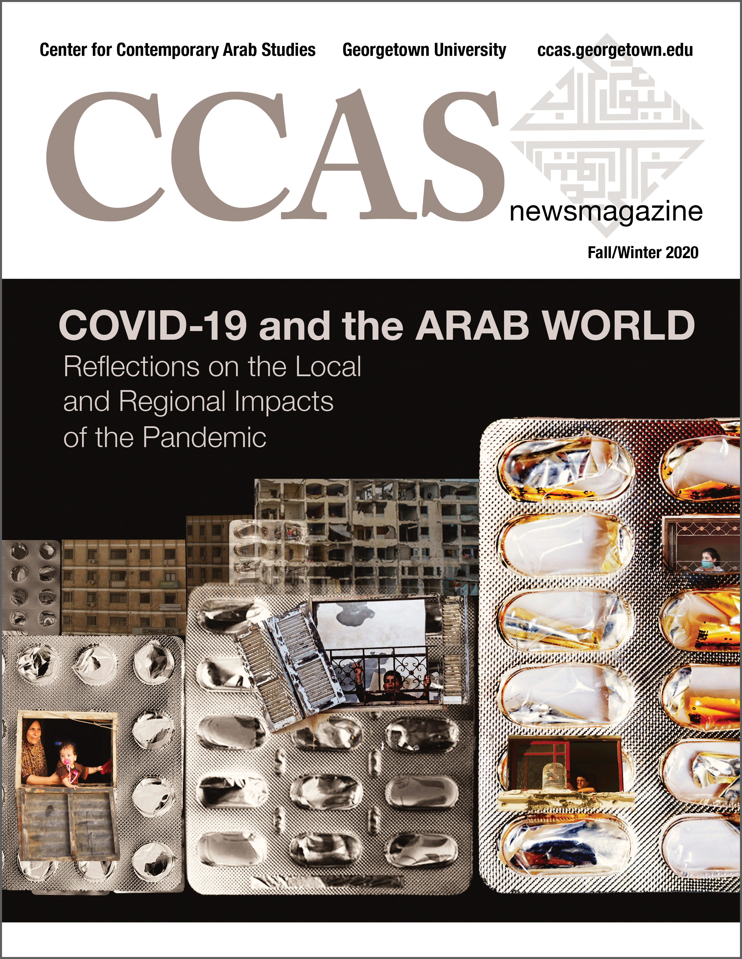 Cover of the fall 2020 issue of the CCAS Newsmagazine