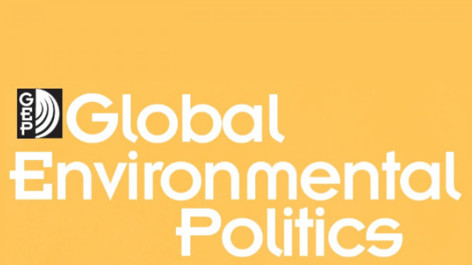 The logo of the journal Global Environmental Politics